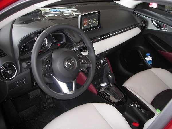 MazdaCX3Power Test