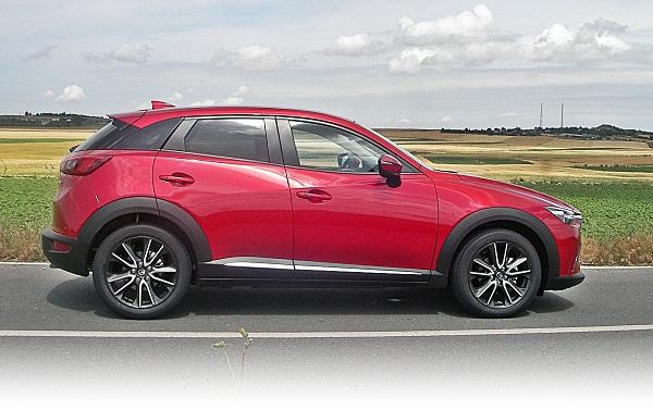 Mazda CX3 Test