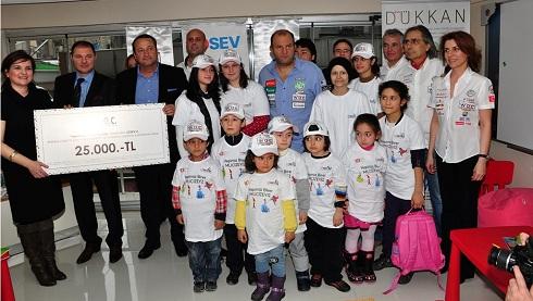Istanbul Offshore Kulübü Sevgililer Gününde Lösev Ile Elele