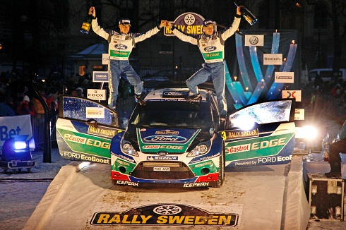 WORLD RALLY CHAMPIONSHIP 2012 - RALLY SWEDEN