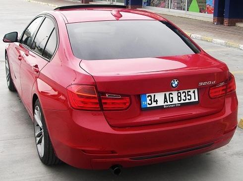 BMW 320D_BMW 320Dizel_BMW 320 Test_Dizel Test_Yeni BMW 320 Dizel Test_İstanbul Park