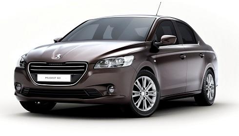 Peugeot 301 1.6 l VTi 85 kW (115 hp)