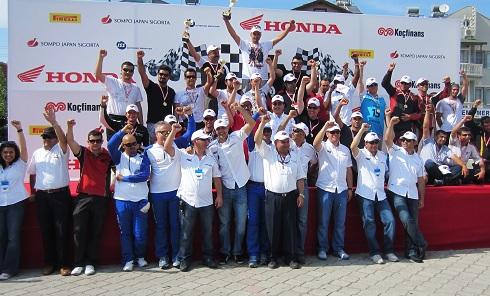 Honda Gymkhana_Fethiye- Honda