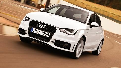 Audi A1 Sportback S line/Fahraufnahme otomobiltutkunu