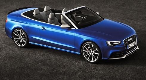 Audi RS 5 Cabriolet/Standaufnahme otomobiltutkunu