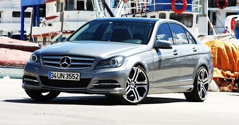 Mercedes C180 AMG_Mercedes-Benz C-Class_Brabus_MERCEDES TURKIYE F355_ Brabus C-Class_Mercedes C180 Test_Brabus Test_C180 Test_otomobiltutkunu