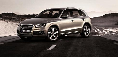 Audi Q5 /Standaufnahme