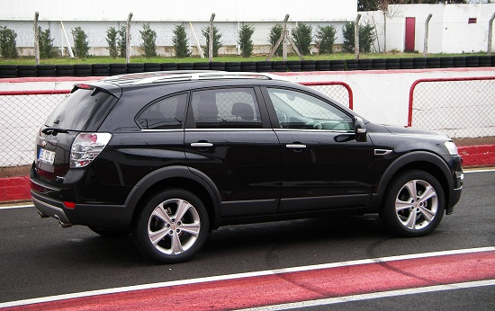Chevrolet Captiva_Chevrolet Captiva Test_Yeni Chevrolet Captiva_2013 Captiva_Captiva Test_Chevrolet Test
