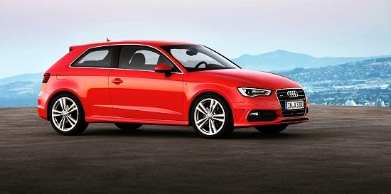 Audi A3 1.8 TFSI quattro mit S line Exterieur-Paket /Standaufnahme_Yeni Audi A3