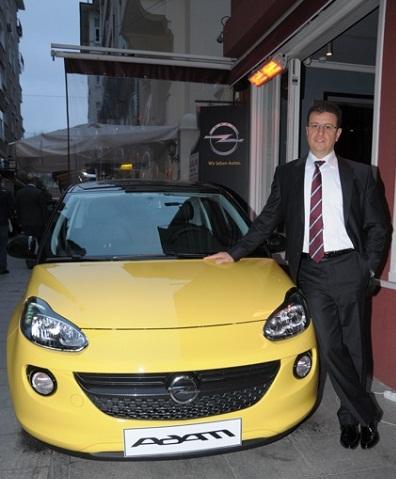 Opel Türkiye Genel Müdürü Özcan Keklik_Opel Adam_otomobiltutkunu