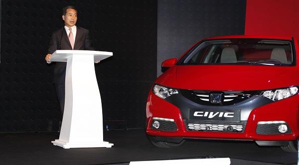 Honda Civic HB_Honda Civic Dizel_otomobiltutkunu_Honda Civic Test_Hideto Yamasaki_Honda Civic Lansman_Honda Civic Haber_2013 Honda Civic
