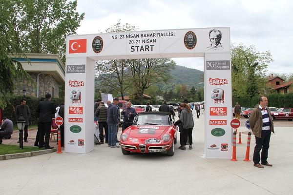 NG 23 Nisan Klasik Otomobil Bahar Rallisi_NG Güral Sapanca Wellness & Convention_otomobiltutkunu