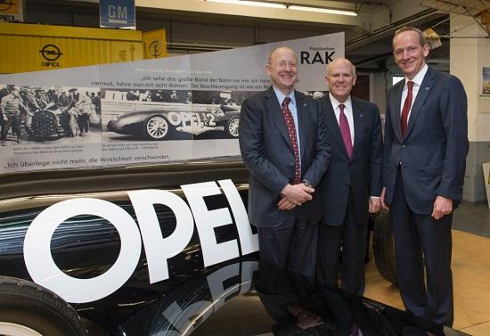 Opel CEO Dr. Karl-Thomas Neumann Steve Girsky Wolfgang Schäfer-Klug HesseVolker Bouffier Phil Murphy Rüsselsheim Patrick Burghardt_otomobiltutkunu