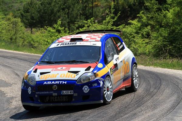 2013eskisehir_fatih_kara_Pegasus Racing_otomobiltutkunu_Fiat Punto S2000_Balkan Ralli