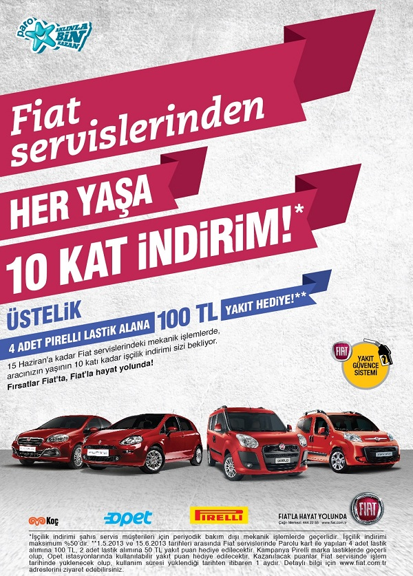 Fiat Servislerinden Avantajlı Bahar Kampanyası Otomobiltutkunucom