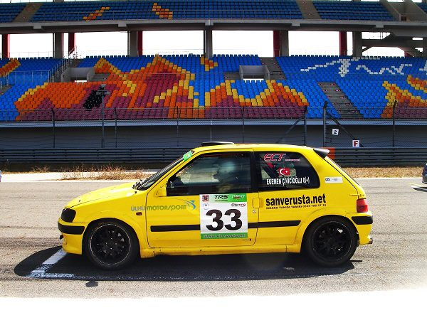 Egemen Çivicioğlu_Ülkü Motorsport_Intercity İstanbul Park_otomobiltutkunu_Peugeot 106 kitcar
