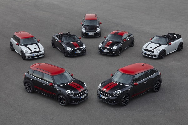 MINI John Cooper Works Countryman_MINI John Cooper Work GP_MINI Rocketman_MINI Coupe_MINI Roadstar_MINI Countryman_MINI Paceman_MINI Clubman_otomobiltutkunu