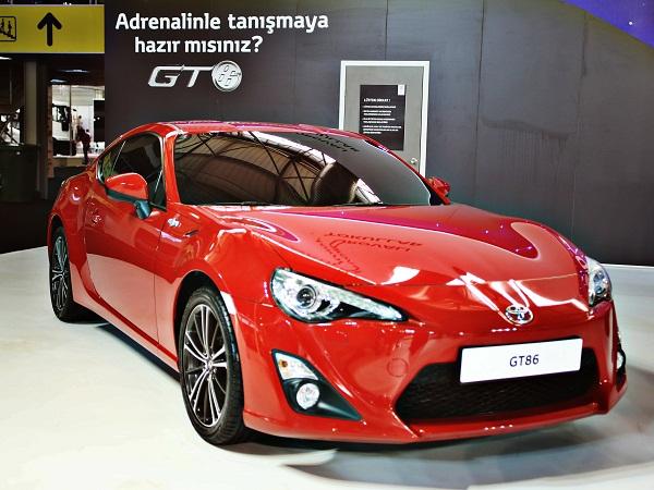 Toyota GT86 Test_GT86_İzmir Autoshow_otomobiltutkunu Toyota GT86