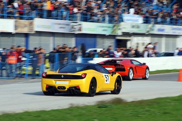 Ferrari 458_İzmir Park'_Drag_otomobiltutkunu