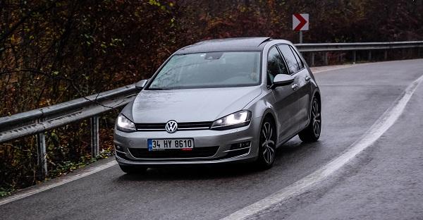 Golf ACT Test_Golf Probefahrt_Golf ACT Testfahrt_Volkswagen Golf News_Golf Fotos_Kampagne_GolfScheinwerfer_Volkswagen Golf zum Verkauf
