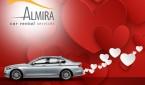 Almira Car Rental Services_Sevgililer Günü_14 Şubat Sevgililer Günü_Sevgililer_Günü_Otomobiltutkunu_BMW 520i kampanya