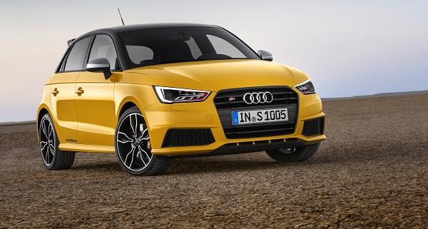 udi-S1-Sportback-_Audi-Otomobiltutkunu Standaufnahme    Farbe: Vegasgelb