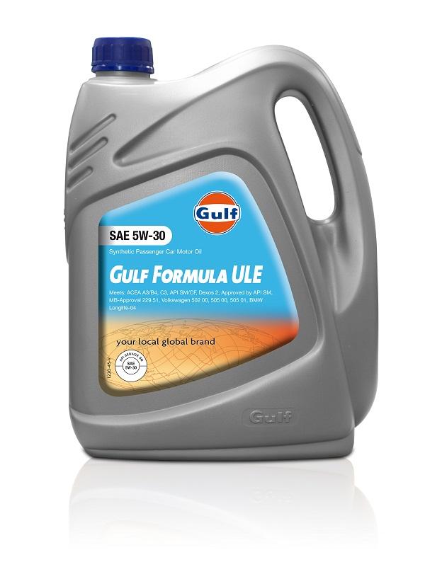 Gulf Formula ULE 5W-30_Gulf Otomobiltutkunu