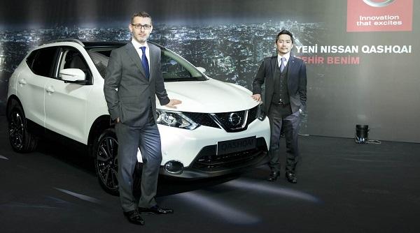 Nissan_Mehmet_Akin-Nissan_Genel_Muduru_Kei_Kubota_Nissan Otomobiltutkunu_Nissan Qashqai Test