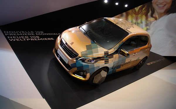108TattooConcept_Cenevre Fuarı_Peugeot Otomobiltutkunu