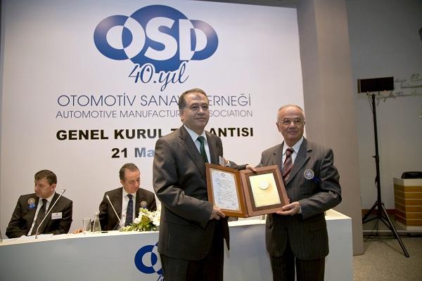 Otomotiv Sanayicileri Derneği (OSD)_Altın Plaket_Hyundai