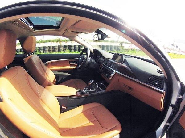 BMW 420d Test