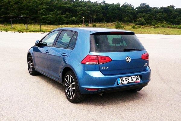 VW Golf Test_Golf 1.6 TDI 105 PS BlueMotion Technology Tiptr. DSG
