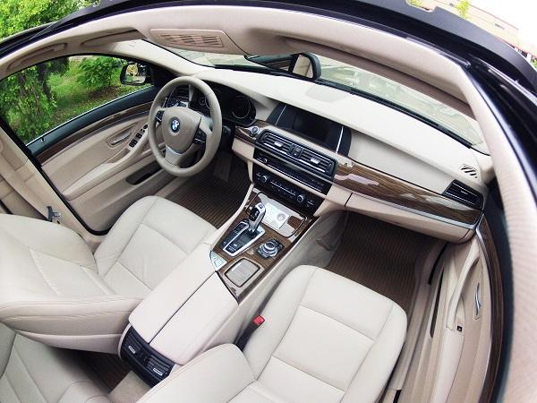 BMW 520i Test