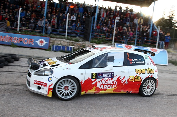 Eskişehir Rallisi_Pegasus Racing_Fiat Abarth Punto S2000_Fatih Kara_Guray Karacar