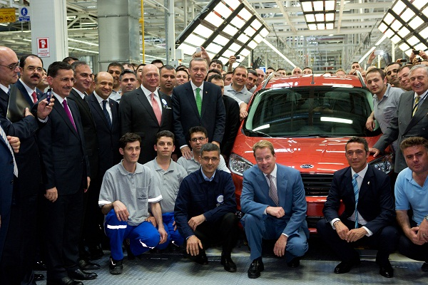 Ford Otosan Yenikoy Fabrikasi Acilisi_Ford Otosan Yeniköy Fabrikası_Otomobiltutkunu