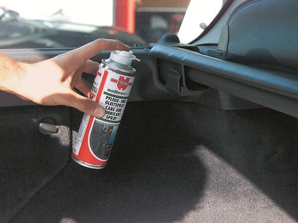 Würth Plastik ve Lastik Kaydırıcı Bakım Spreyi_Otomobiltutkunu