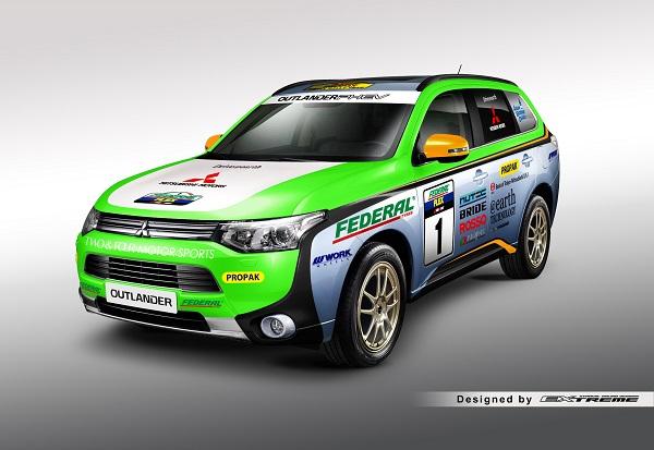 Asia Cross Country Rally Mitsubishi Motors_Mitsubishi Outlander Phev_Otomobiltutkunu_2014 Asia Cross Country Rally