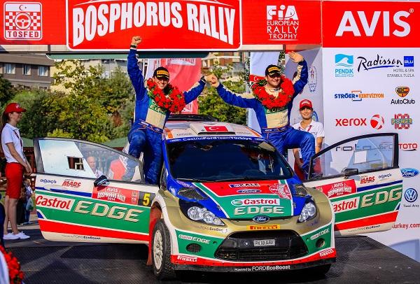 Murat Bostanci_Castrol Ford Team Turkiye_Avis Bosphorus Rally 2014_Otomobiltutkunu_Ford Fiesta S2000