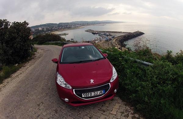 Peugeot 208 Test_Gezi_Yol Manzaraları_PeugeotTurkiye_Otomobiltutkunu_Test_Otomobil Testleri