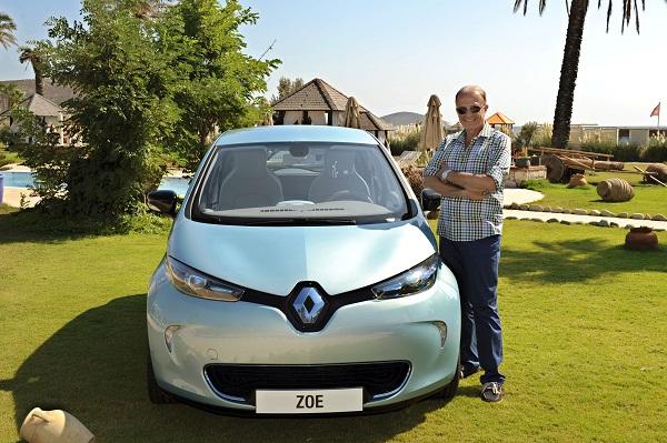 ibrahim AYBAR_Renault Zoe