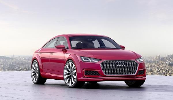 Audi TT Sportback concept Mondial2014