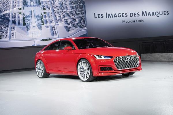 Autosalon Paris 2014 Audi TT Sportback