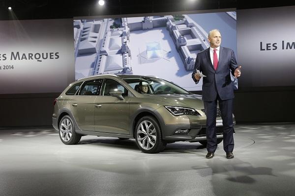 Mondial de lAutomobile 2014 in Paris Konzernabend der Volkswagen AG unter dem Motto Les Images des Marques Leon_X-PERIENCE_OTOMOBiLTUTKUNU