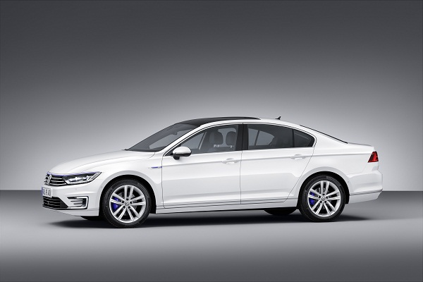 Der neue Volkswagen Passat GTE Mondial de lAutomobile 2014 in Paris Volkswagen Pressekonferenz am 2 Oktober 2014