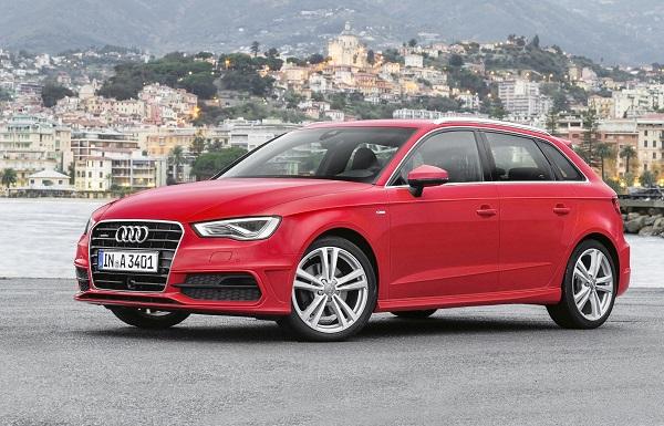 Audi A3 Sportback S line/Standaufnahme Otomobiltutkunu