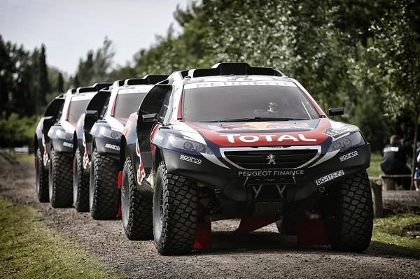2015 Dakar_Peugeot Sport_Red Bull_Total_Otomobiltutkunu