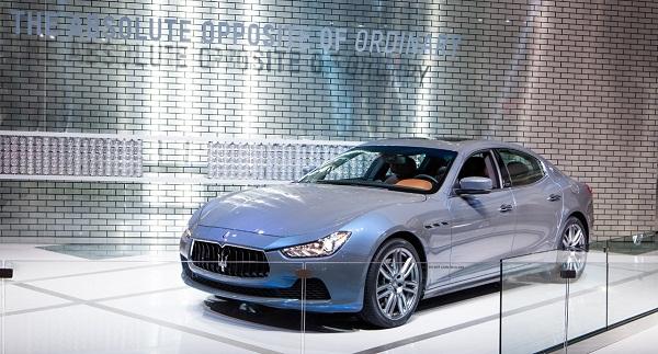 Maserati Detroit Autoshow 2015