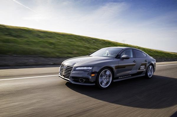 Audi zFAS 550 Meilen pilotiert vom Silicon Valley nach Las Vegas