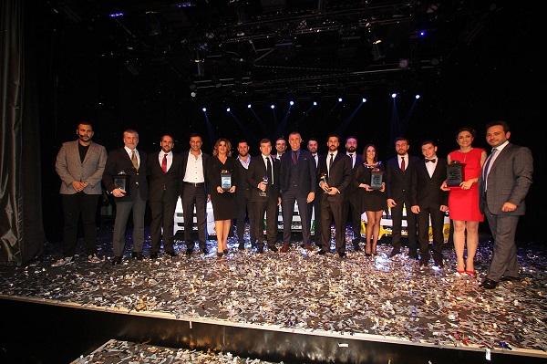 Lassa V1 Challenge 2014 sezonu ödül gecesi 31 Mart akşamı Power Media Center'da yapıldı