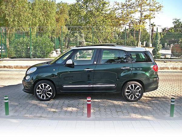 Fiat 500L Living Test